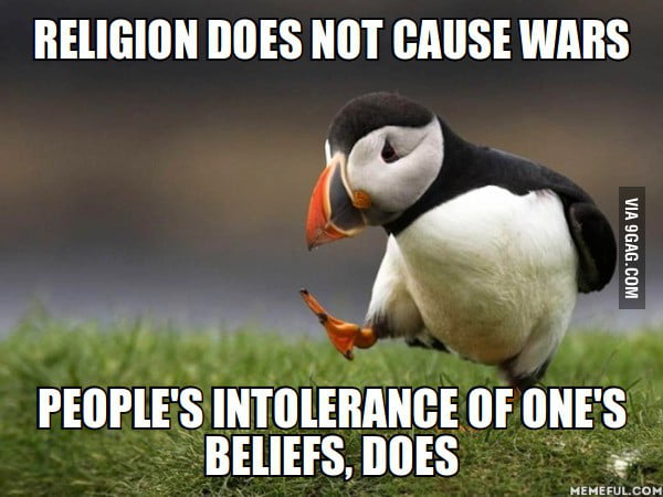 2 religion does not cause wars