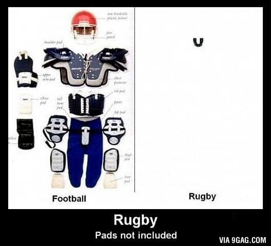 Rugby Vs American Football Protection