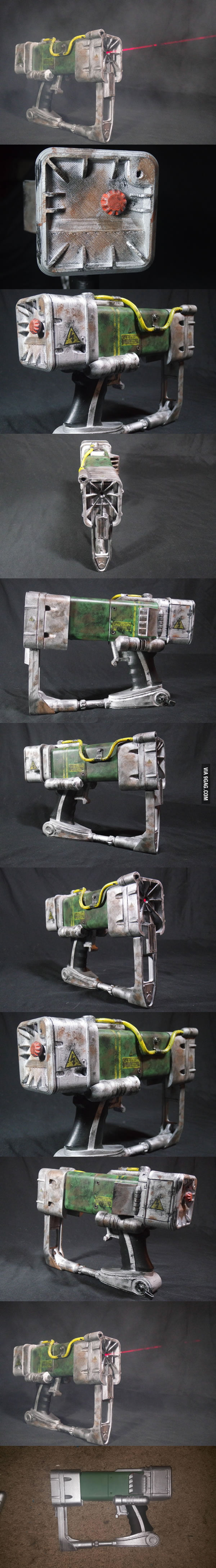 how to make a laser pistol from fallout 3