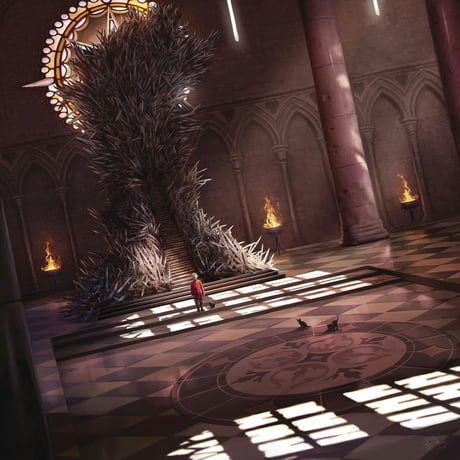 The true iron throne