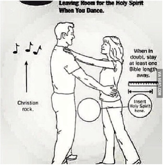 Leave room for the Holy Ghost!