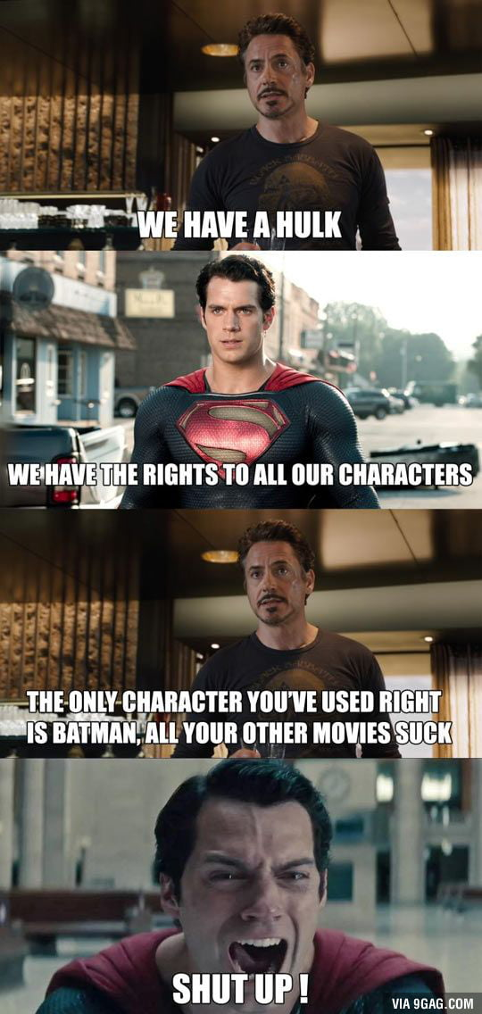 DC vs Marvel.