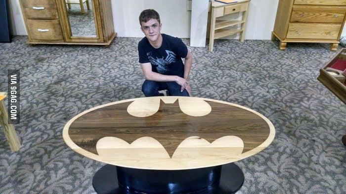 This kid 39 s batman table scored 96 at the state for Architecture students 9gag