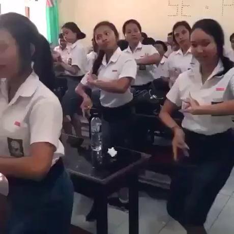 Just regular dance lessons in my school (Bali, Indonesia)