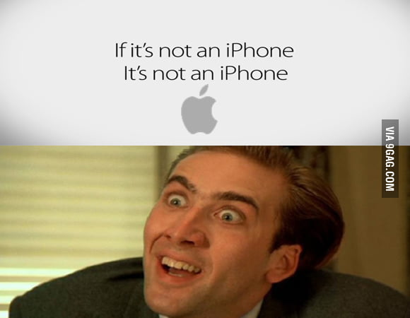 Apple's new slogan, yes this is real.
