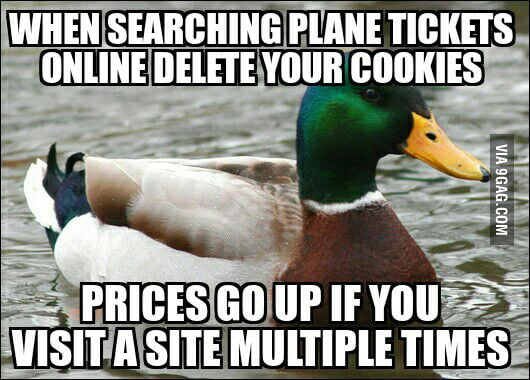 Plane tickets search