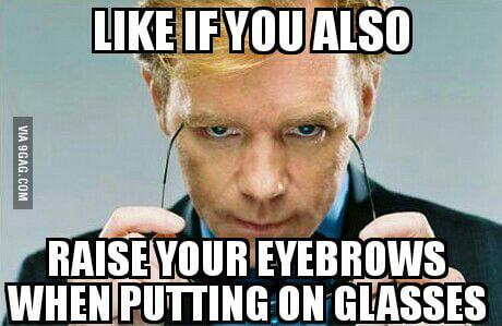 I always do that...