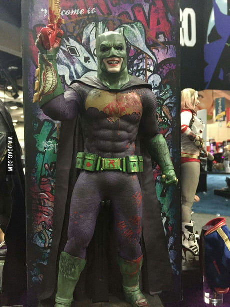 Joker Impersonator: Unveiled at SDCC
