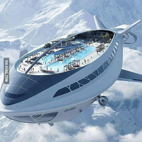 The next generation of cruise ship. Would you go o
