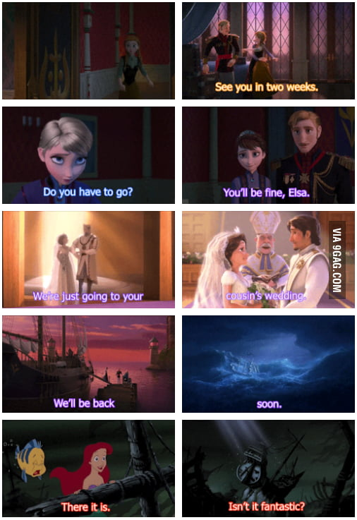 Gag Disney Movies Connections