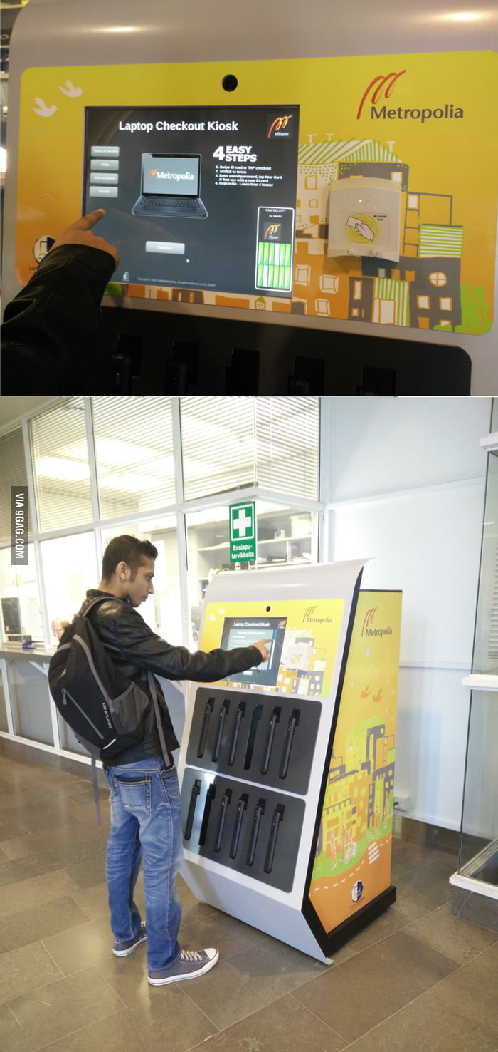 laptop vending machine