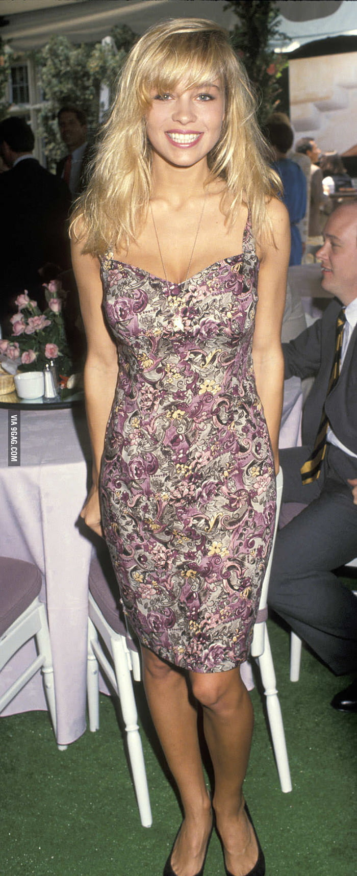 This is Pamela Anderson before surgeries!