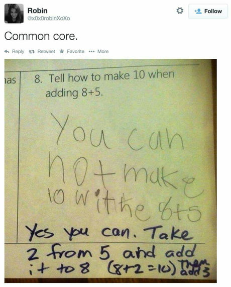 American educational system in a nutshell.