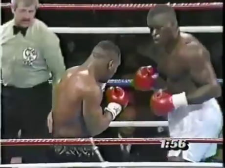 Mike Tyson's first loss
