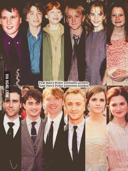 Pics Photos - Harry Potter Characters Then And Now