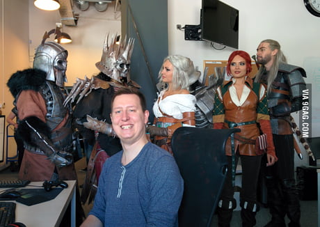 Since everyone is posting their jobs, this is what I do. I'm one of the developers of The Witcher 3: Wild Hunt.