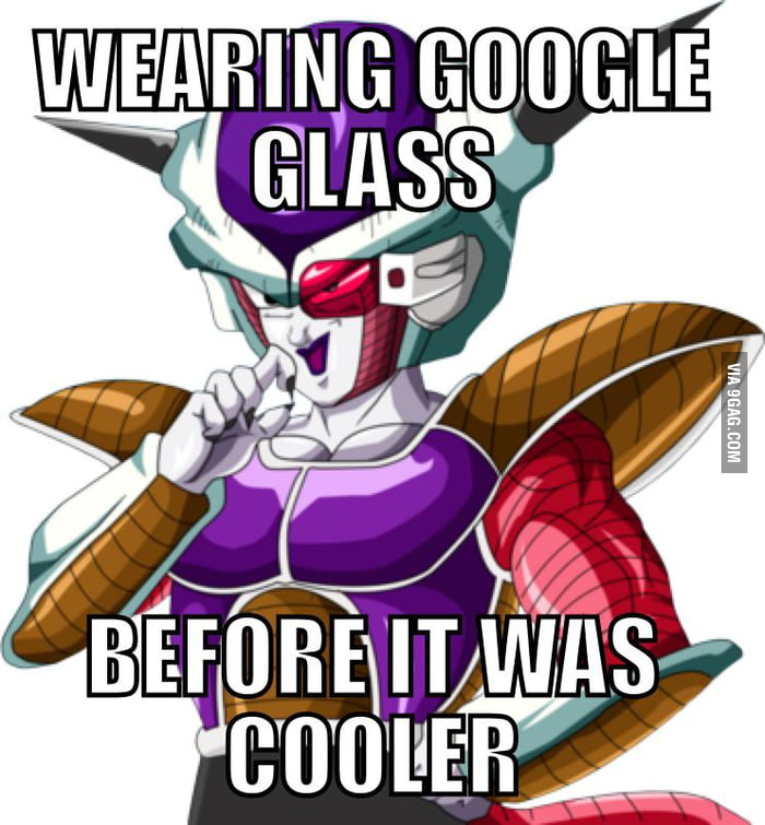Google Glass in DBZ