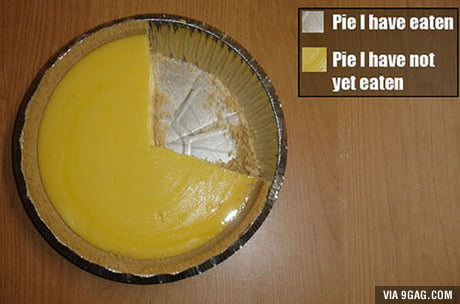 Most accurate pie chart ever