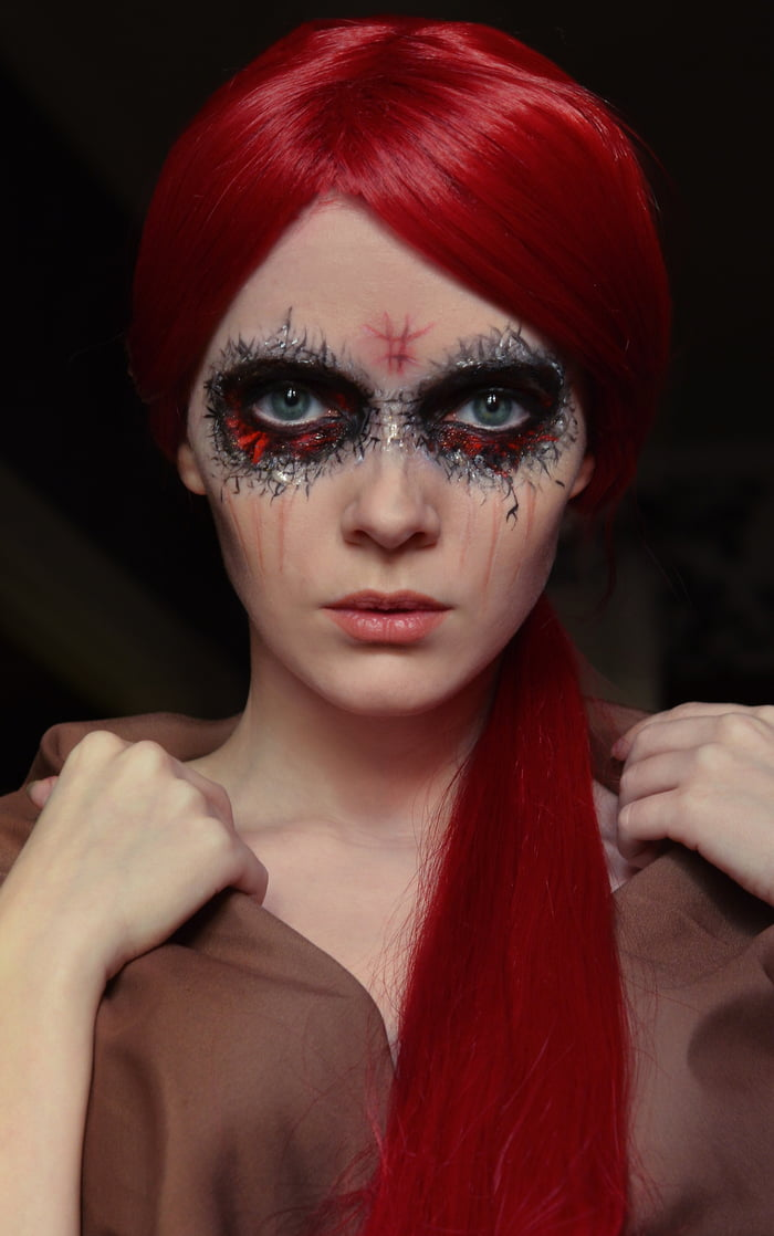 My own Kaecilius makeup - Doctor Strange