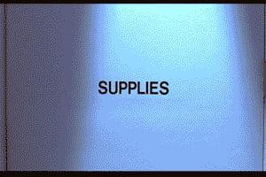 Supplies!