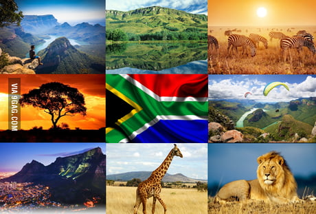 Shout out to all the South Africans. What a beautiful country we have.