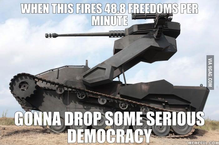 Give them democracy!