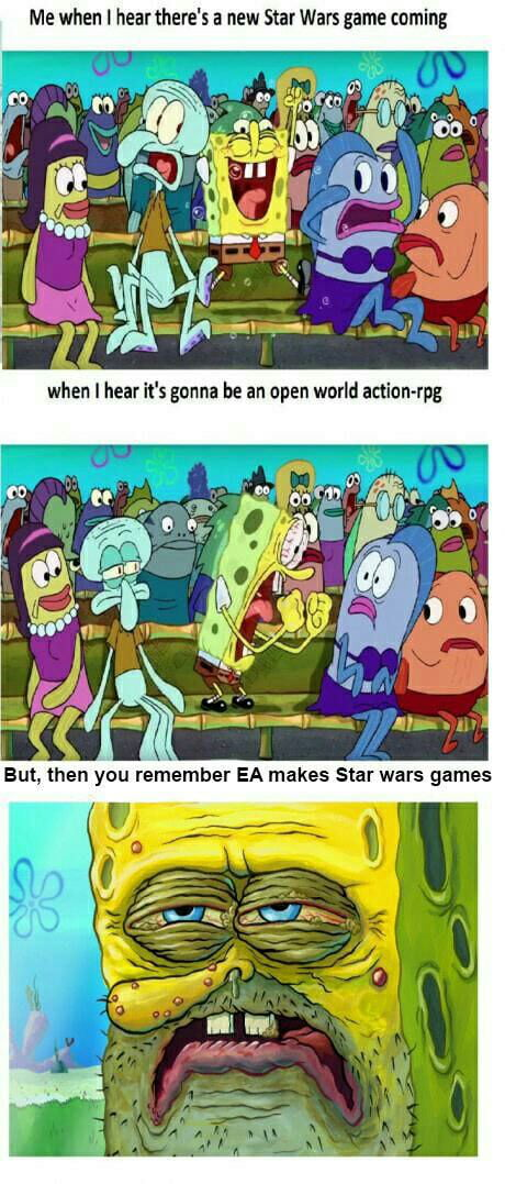 I can almost guarantee that the new EA battlefront will be a disappointment to fans of the original BattleFront games