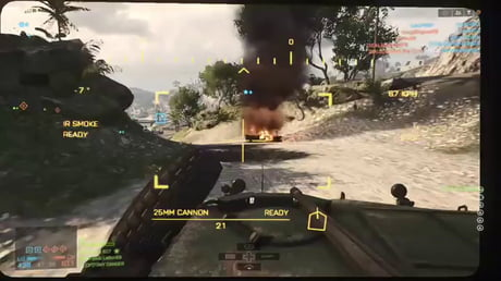 The new elasticated water in BF4 sure makes a fantastic outer defense