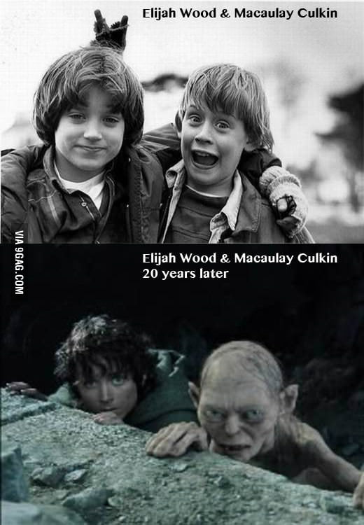 Elijah Wood & Macaulay Culkin 20 years later