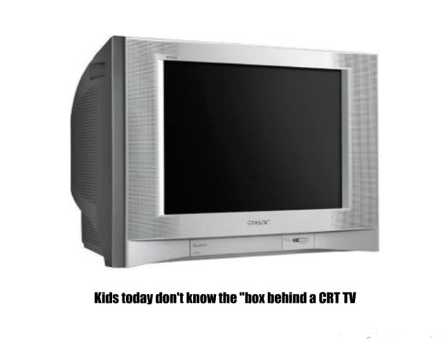 Tv back in the old days