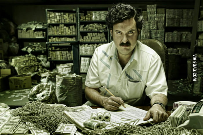 pablo escobar how much money did he make