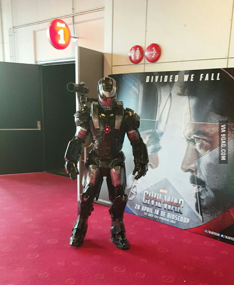 Went to c civil war, and saw this cosplay! How awesome! @holland