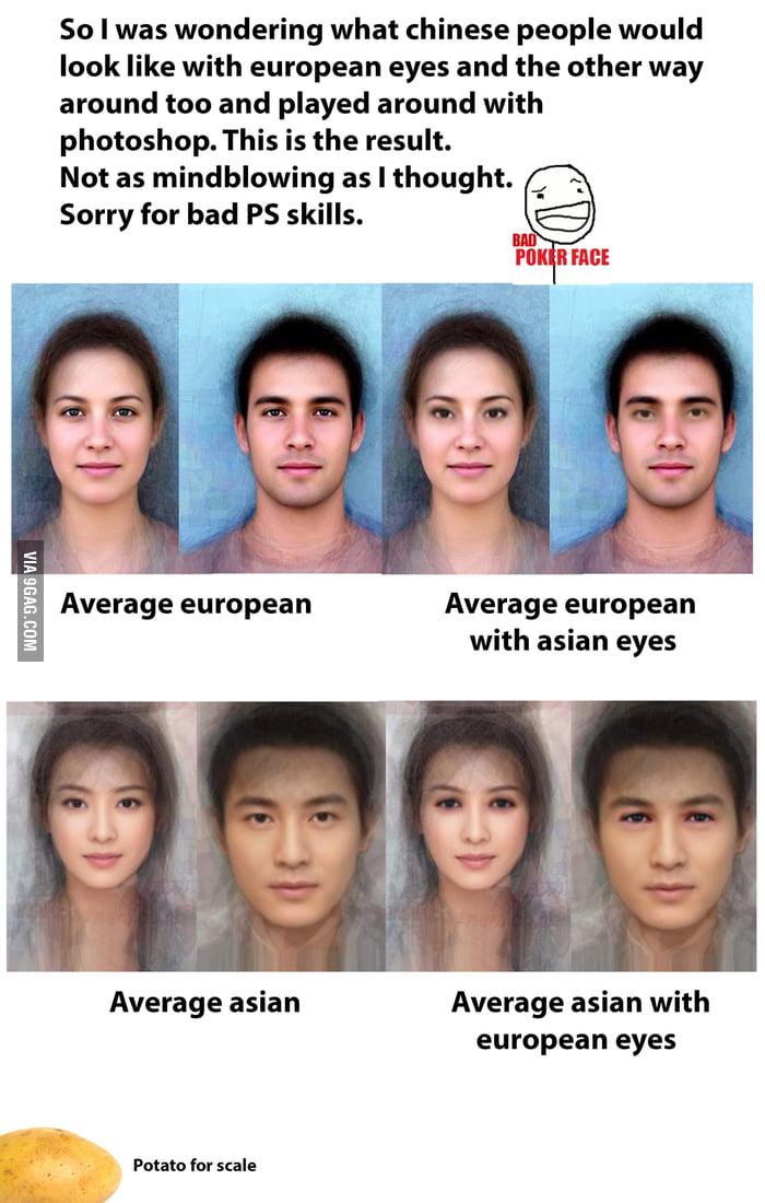 asian people look like