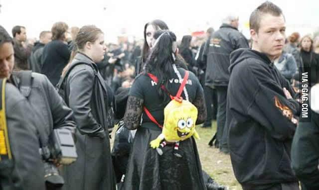 We all love spongebob