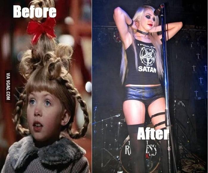 Puberty Strikes Again, Taylor Momsen
