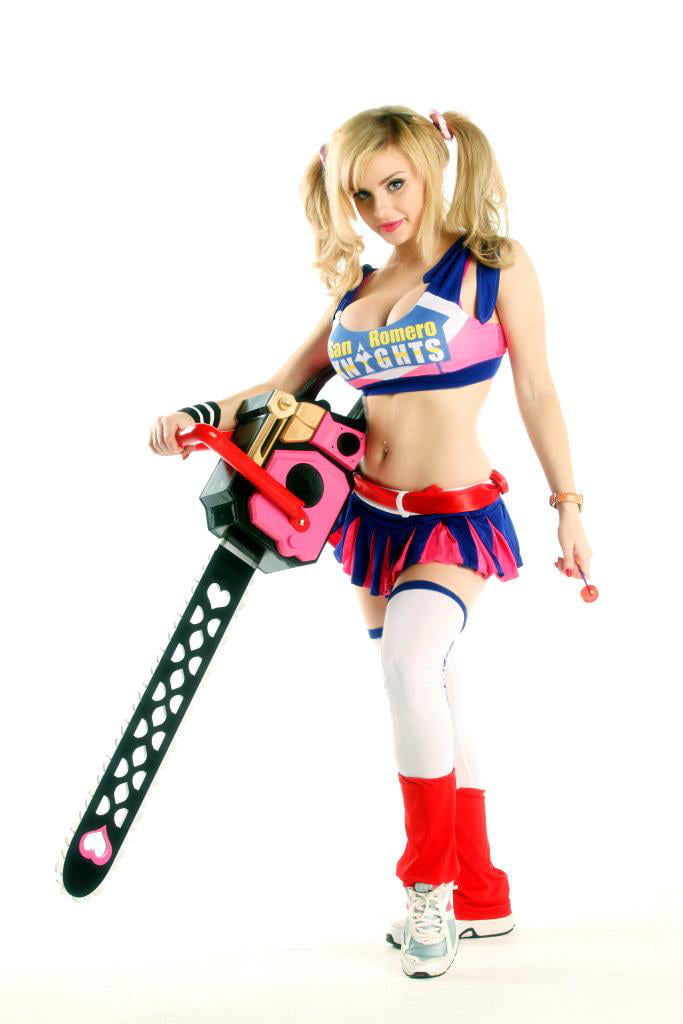 Lollipop chainsaw cosplay costumes