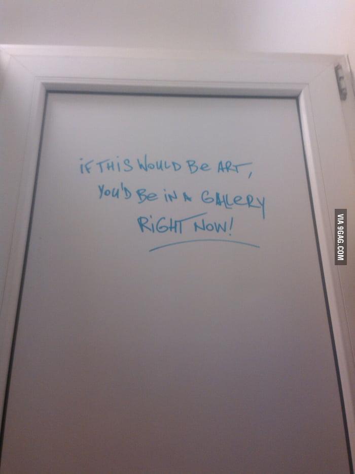 Bathroom wisdom 9gag for Bathroom 9gag