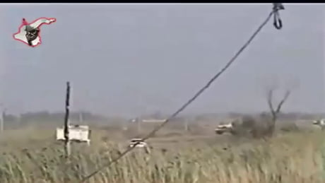 Abrams Tank Hit By IED