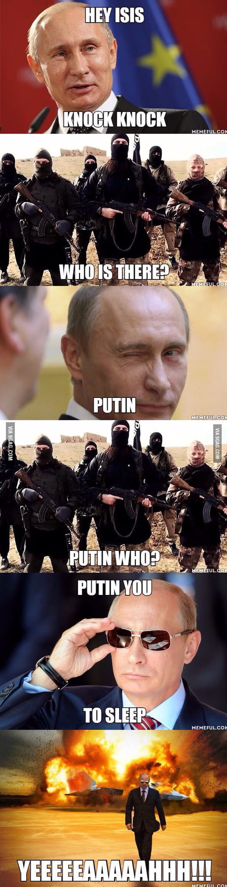 Putin who?