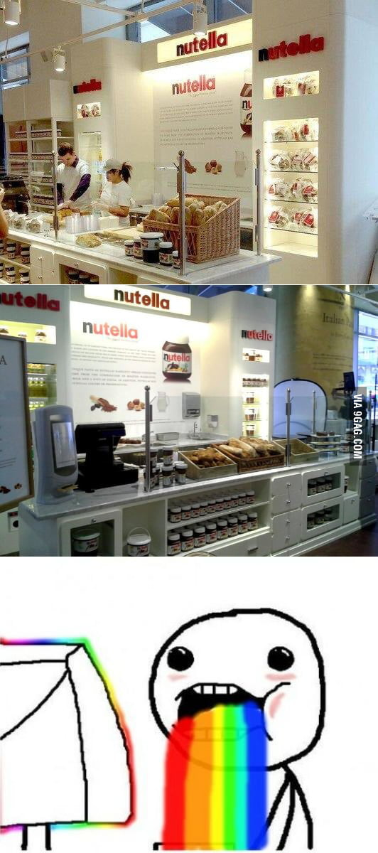 Nutella bar opening in Chicago