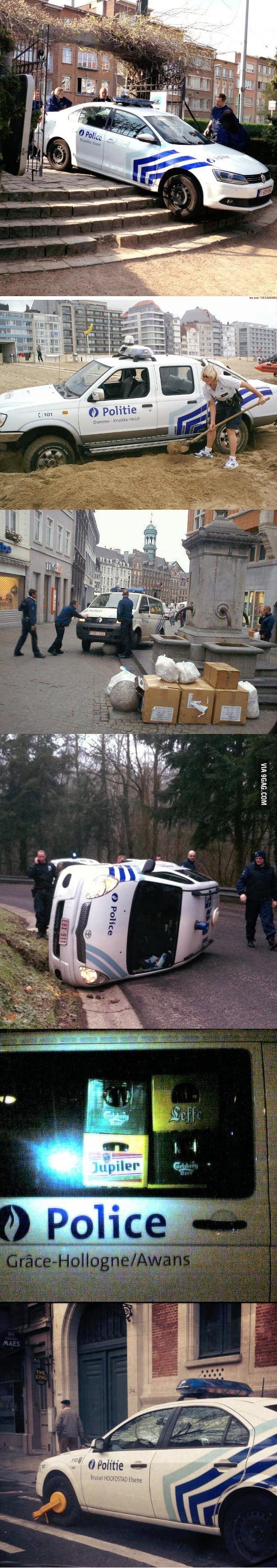 Nice one police
