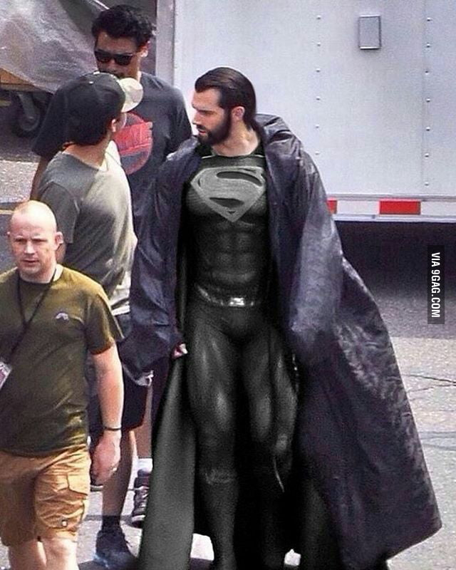 Black suit superman - 9GAG