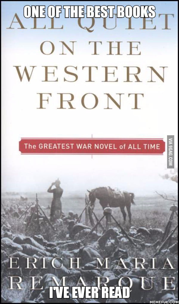 all quiet on the western front essay anti war Writing all quiet on the western front essay all quiet on the western front by erich maria remarque, a reichswehr veteran,is perhaps the most famous anti-war novel ever written.