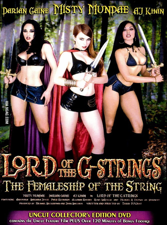 The lord of the rings porn parody - 9GAG