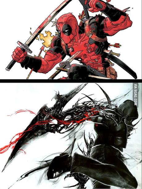 Deadpool vs Alex Mercer. Who will win?