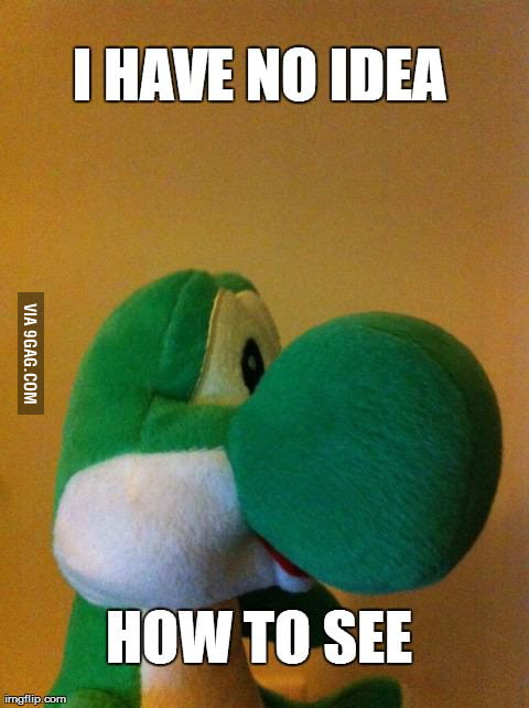 Yoshi is having some trouble