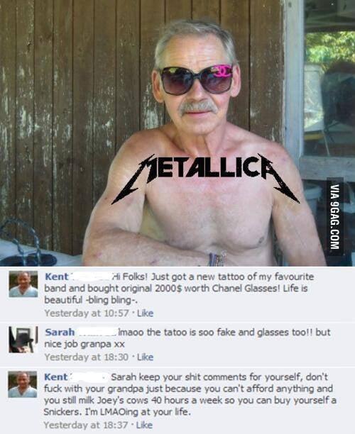 Photoshop Master Grandpa