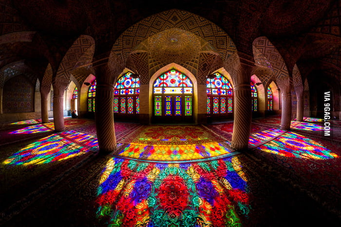 A beautiful Mosque in Iran