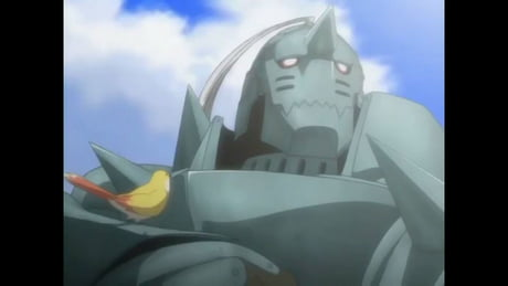 Just found out where bastion is based of. (alphonse from fullmetal alchemist)