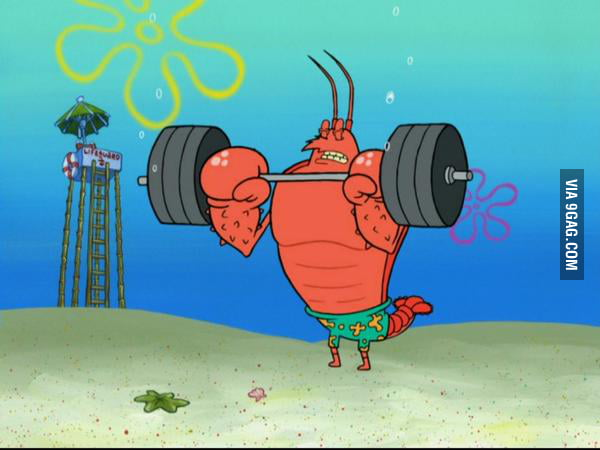 Larry the lobster: the perfect example of skipping leg day ...